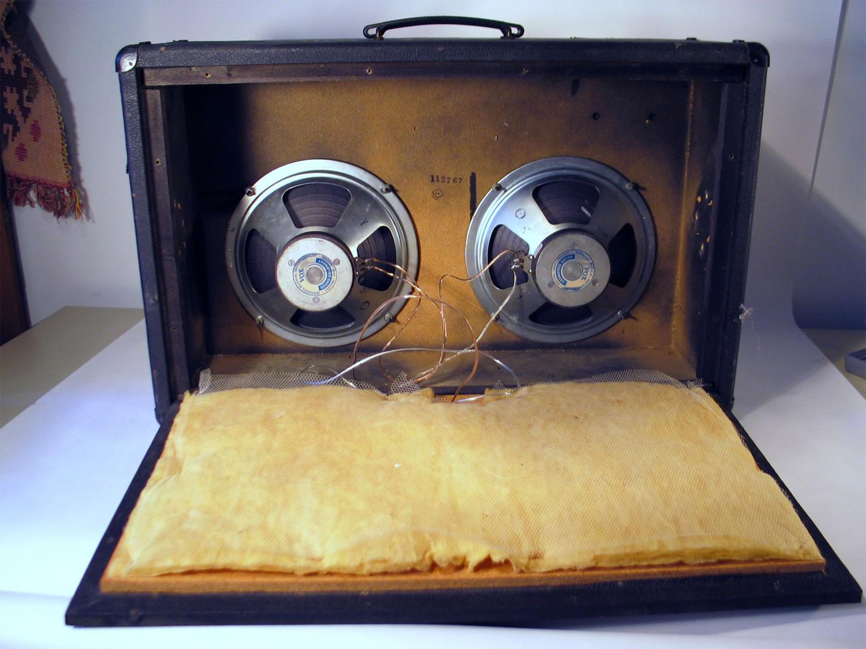 Vox Super Berkeley III Vintage 2-10 Speaker Cabinet ...